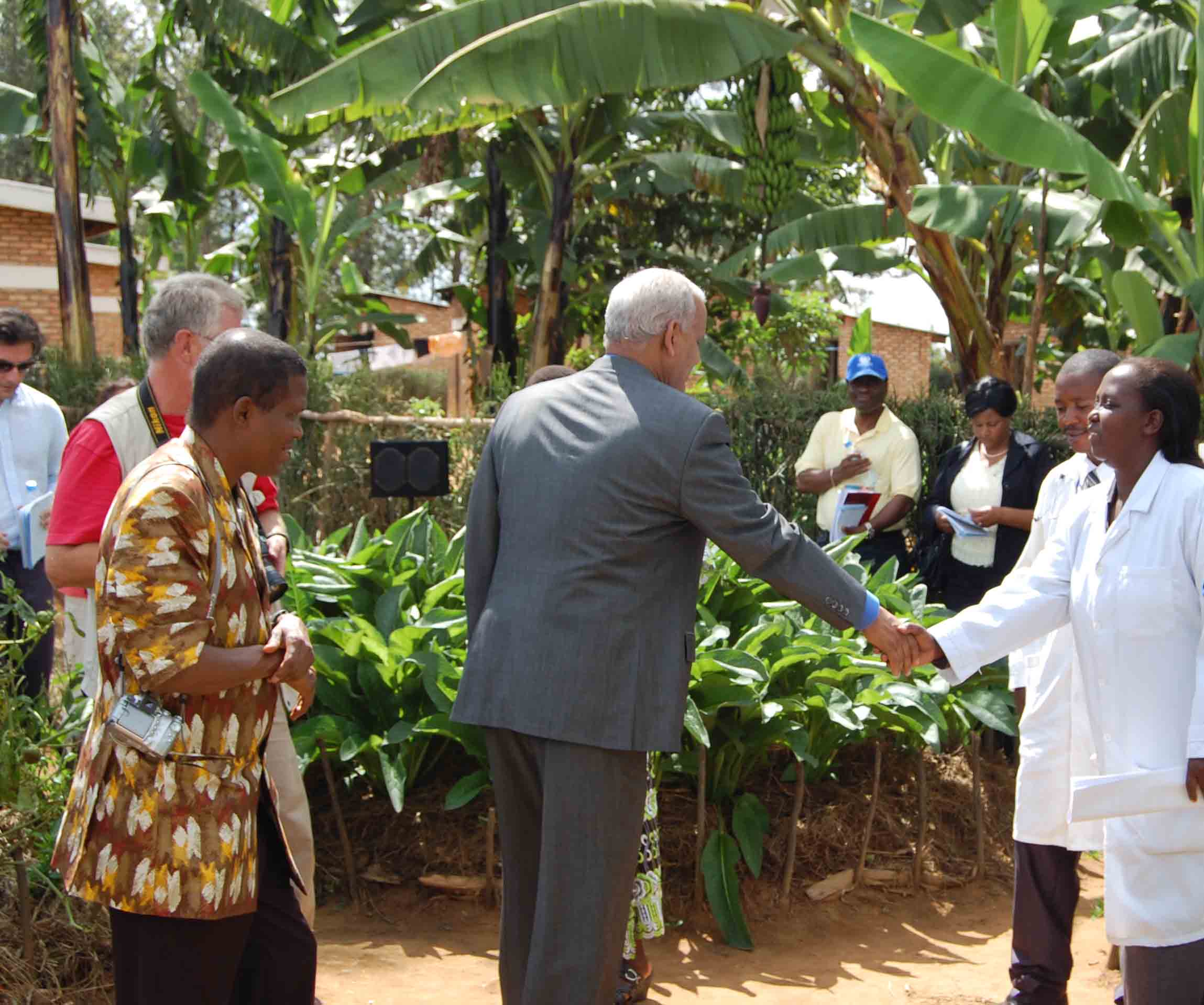 Kitchen Garden Project Unfpa Rwanda Un Governing Bodies Learnt From Rwanda Kitchen