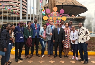 Rwanda delegation to Nairobi Summit