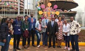 Rwanda delegation to Nairobi Summit