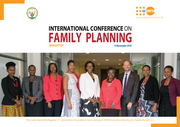 First Lady Jeannette Kagame (C) and Imbuto Foundation team received UNFPA Executive Director, Dr. Natalia Kanem (C)